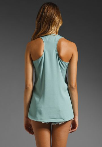 MM COUTURE BY MISS ME Embellished Tank in Sage at Revolve Clothing - Free Shipping!