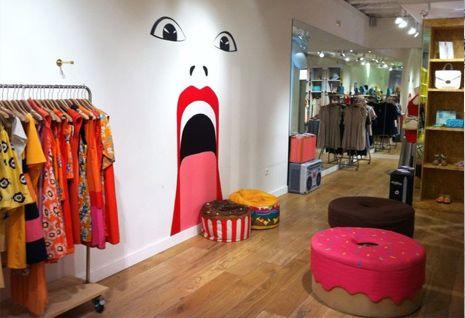 decoracion de tiendas de ropa vintage - Buscar con Google ...