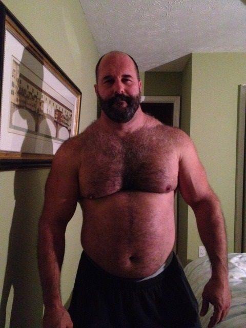 Big hairy mature men