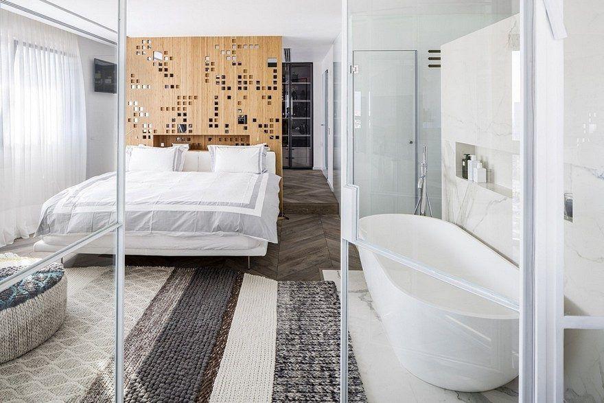 Gavish Apartment in Tel Aviv / Gali Amit   Floor to ...