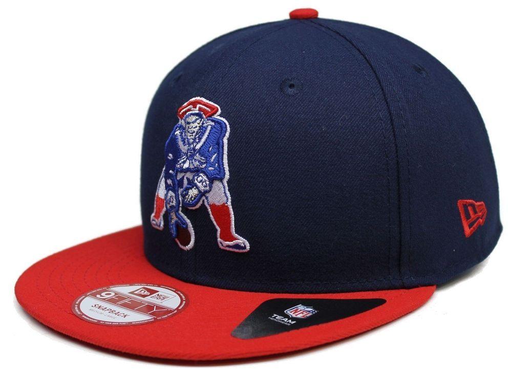 f372ed095ec 1 Adult  NFL New Era Vintage New England  Patriots Bind Back 9fifty  Snapback Hat from  24.95