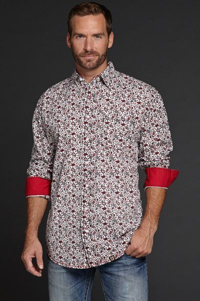 Light Enzyme Washed Longsleeve Woven Shirt