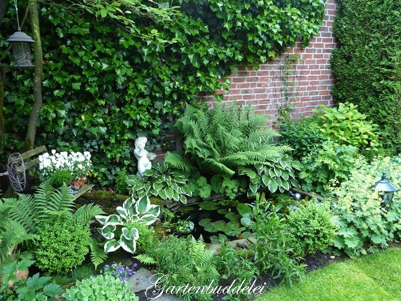Gartenbuddelei Garden White Green Shady Pinterest