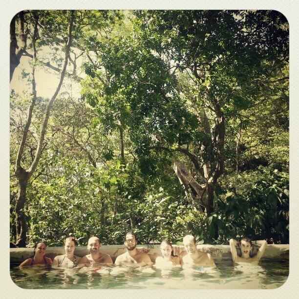 Buena Vista Hot Springs. Costa Rica.