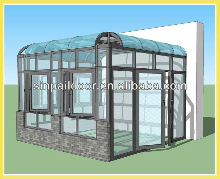 Aluminium Glass Sunroom For Solarium, View Aluminum Glass Sunroom, Sinpail  Product Details From Foshan