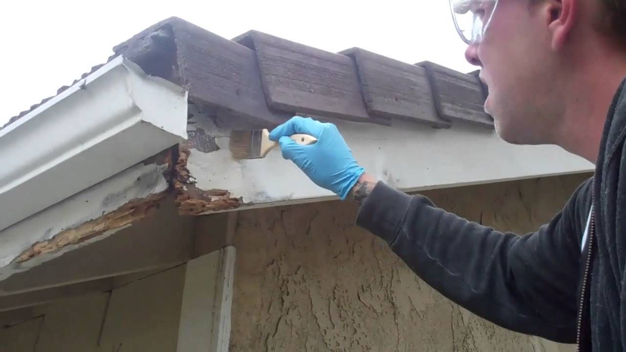 dry rot repair with the woodwizzards wood repair system, capistrano