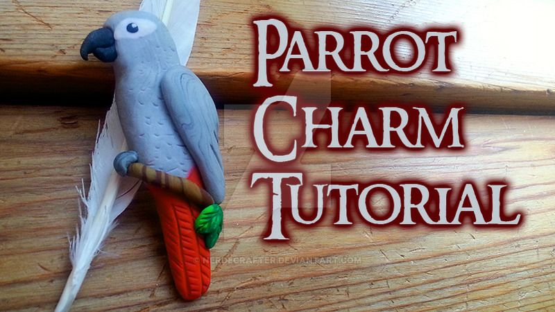 Realistic-Looking Parrot Pin (Video Tutorial) by NerdEcrafter on DeviantArt