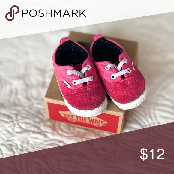 455ded84b5 Van Era crib shoes Hot pink Vans Shoes Baby & Walker | My Posh Picks ...