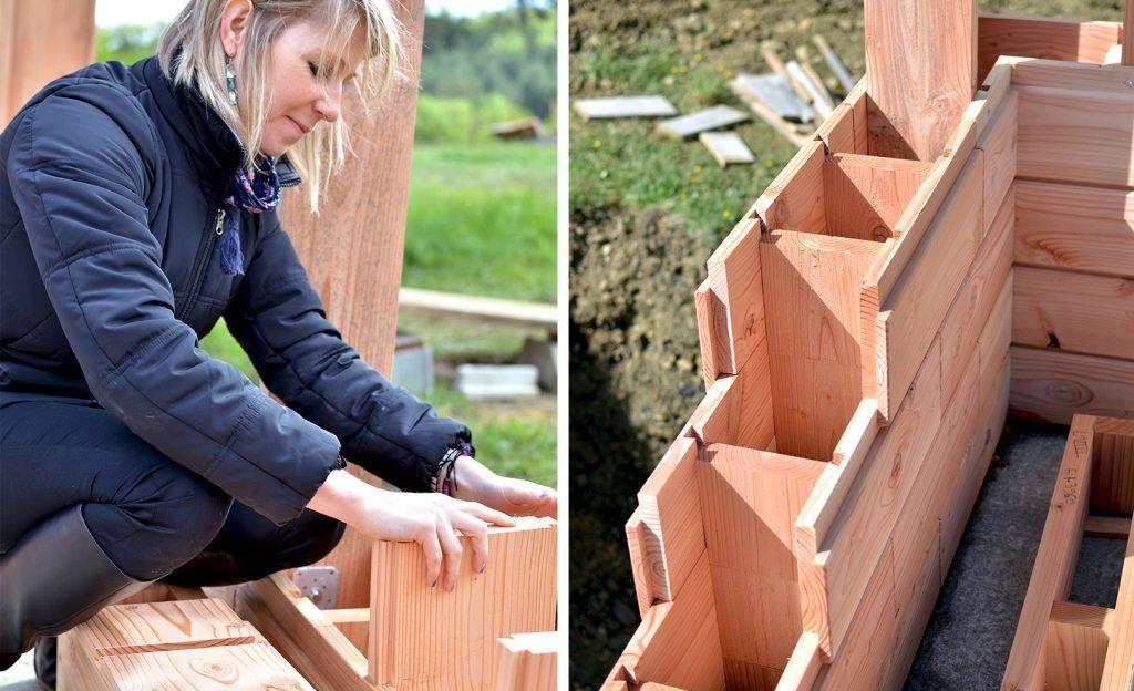 Une maison passive en bois facile à construire Dom Pinterest