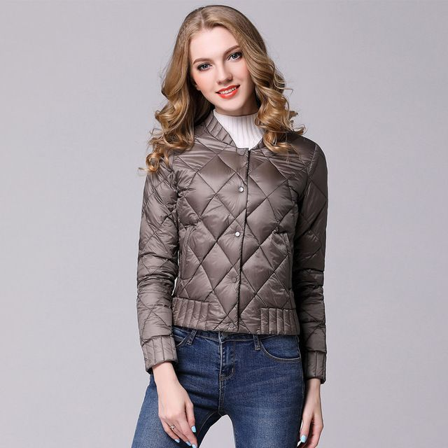 b8635e6eff8 Spring Winter Women Ultra Light Down Jacket Casual Female Portable duck  feather Coat Jackets Lightweight Parkas Like if you are Excited! Visit our  store