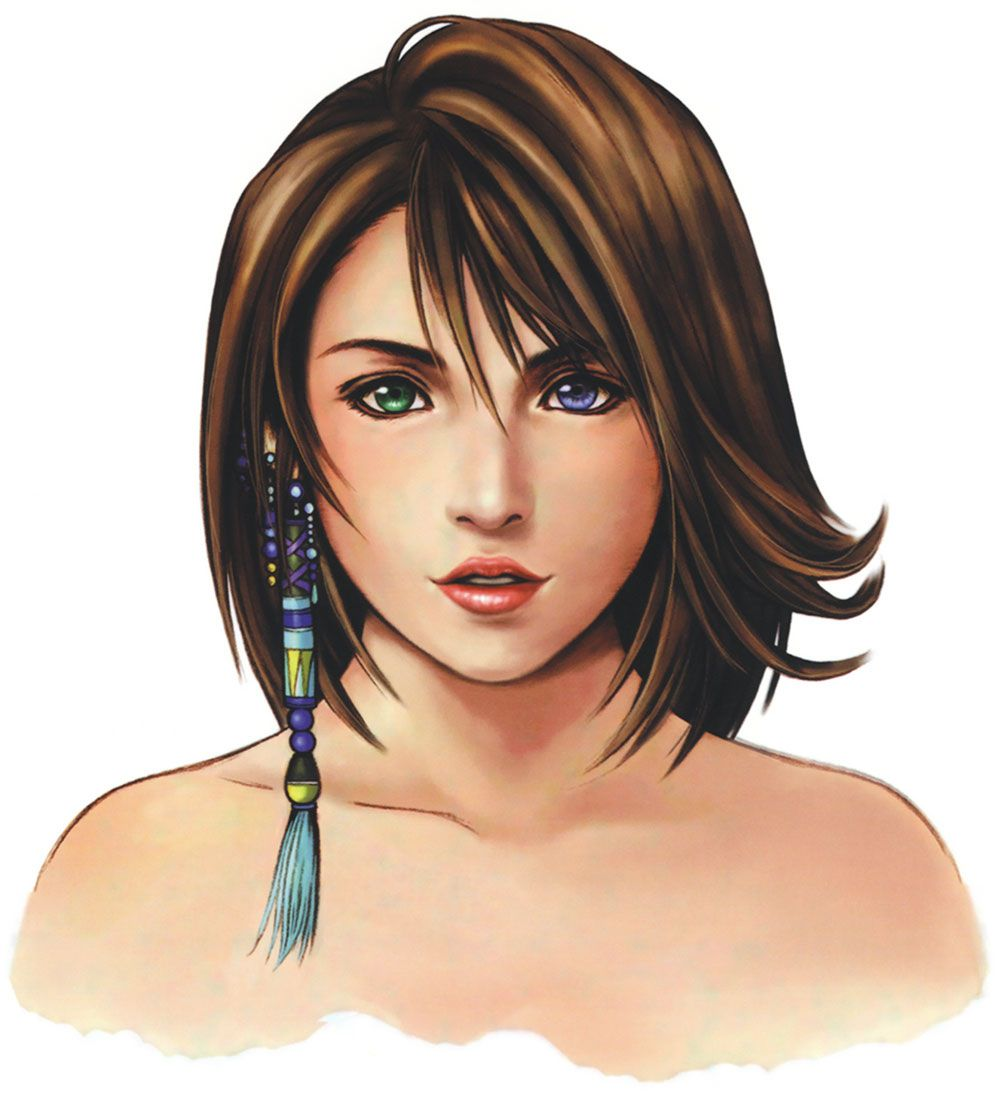 Final Fantasy X - Yuna Face