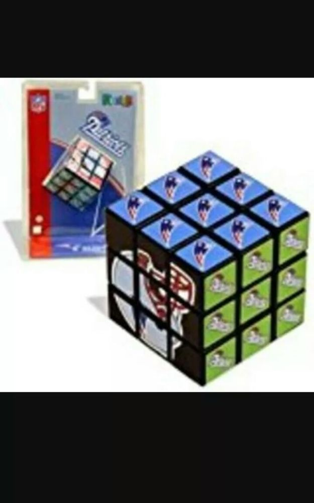 38849913c New England Patriots Football Team Rubik s Cube VERY RARE!