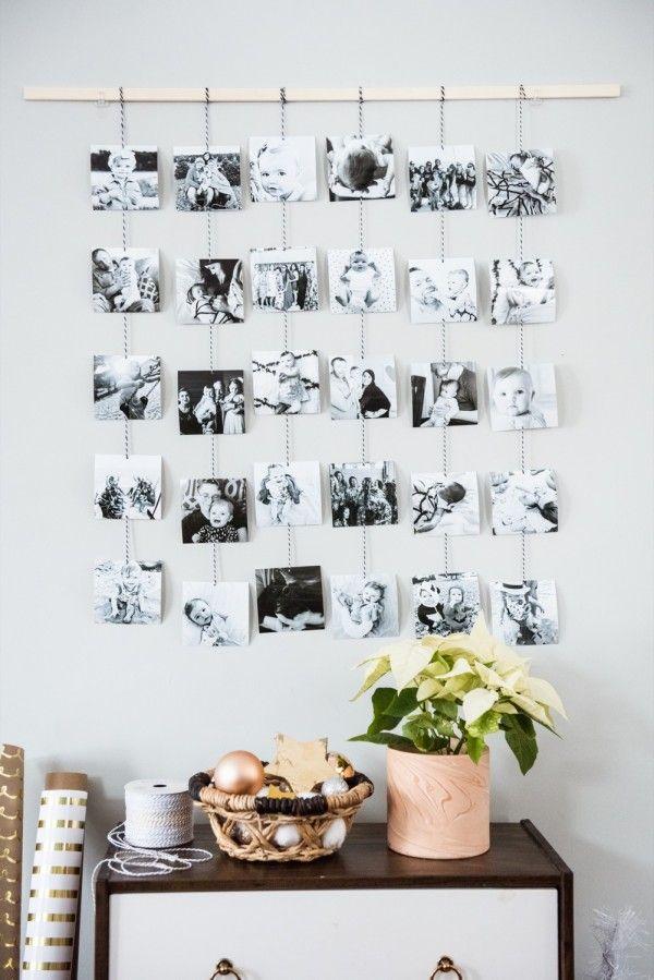 Diy Family Photo Wall Hanging Photo Wall Decor Wall Decor