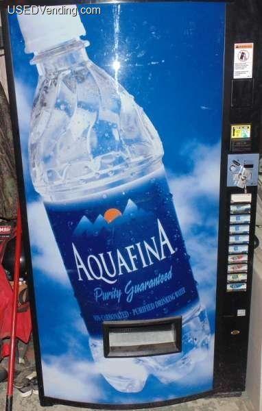 New Listing Http Www Usedvending Com I 1 Vendo 540pc Electronic Bottle Beverage Vending Machine Oh I Dasani Bottle Vending Machines For Sale Water Bottle