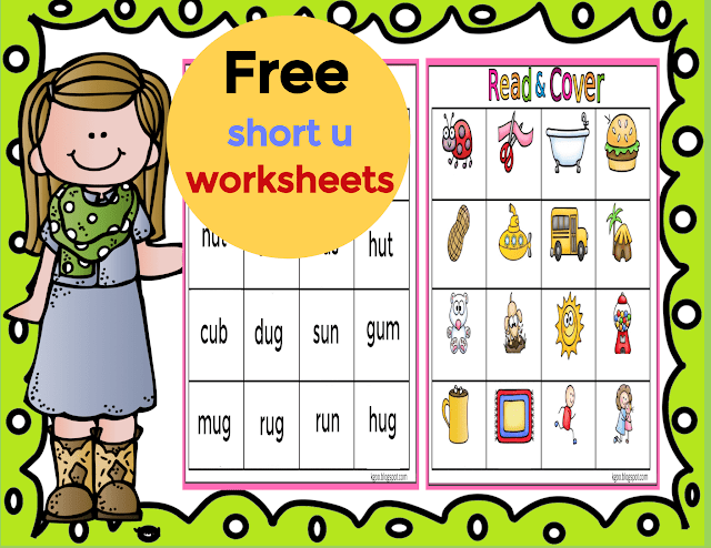 Short U Phonics Worksheets اوراق عمل حرف U Printable Cvc Word List Chart Click Here To Download Free Pdf File Reading Phonics Worksheets Phonics Worksheets