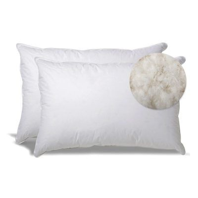 Extra Soft Down Filled Pillows For Stomach Sleepers Set Of 2 90 99 Stomach Sleeper Pillow Stomach Sleeper Soft Pillows
