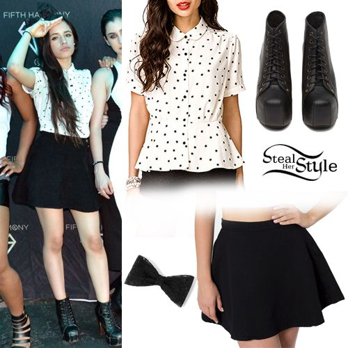 Fifth Harmony Meet Greet Style Pinterest Met Clothes And Celebrity