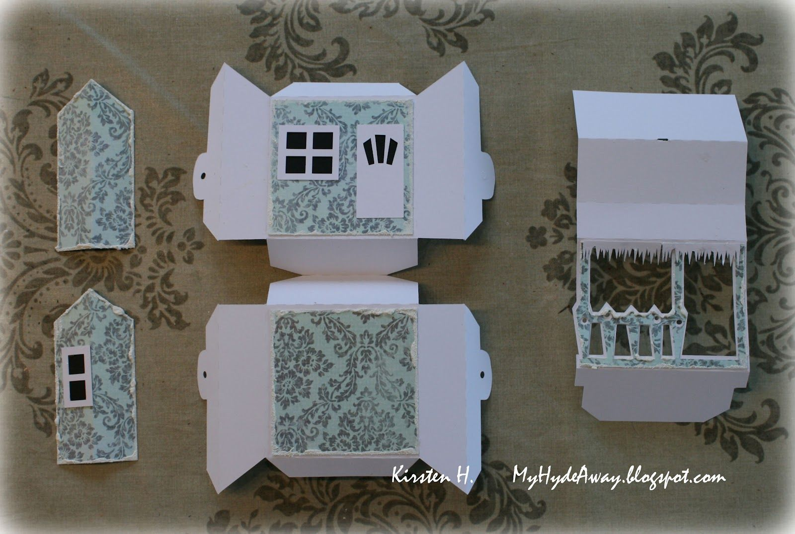 My Craft and Garden Tales: Pop up house card - tutorial with ...