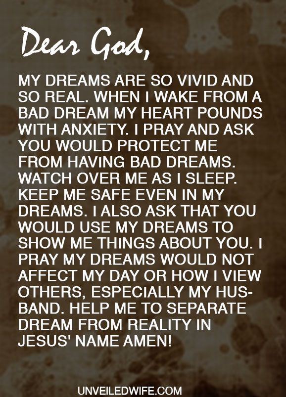 prayer no more bad dreams prayer of the day for marriage
