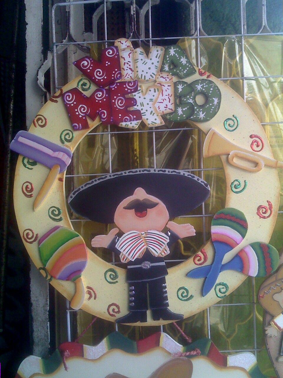 Viva mexico fiestas patria m xico mexican party for Puertas decoradas para el 16 de septiembre