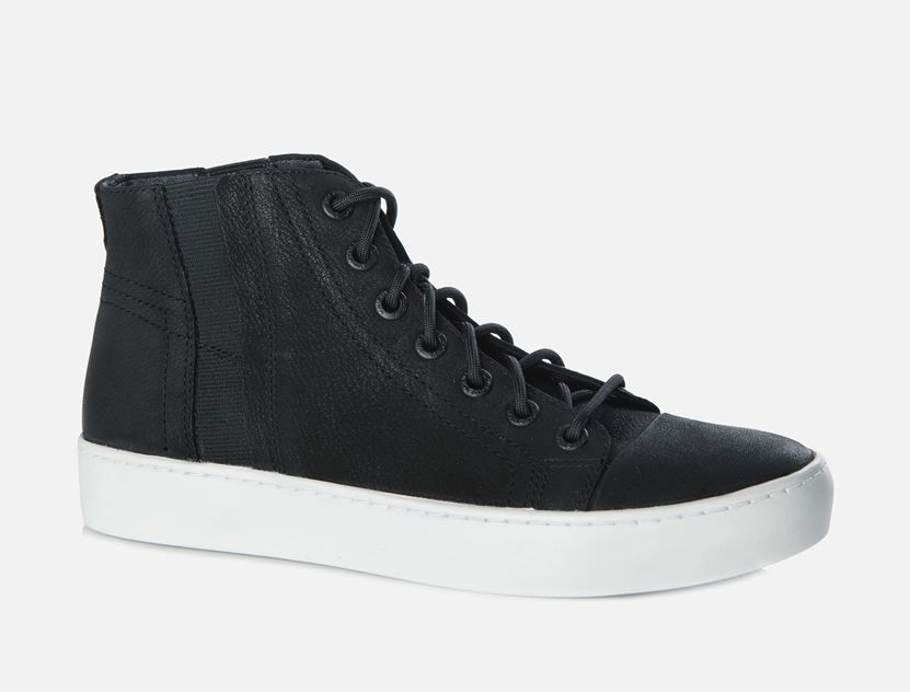 92cb290586c Vagabond - ZOE. Sneaker group Zoe transitions into fall with this lace-up,  black high top model in nubuck. This is a part of Sport by Vagabond.