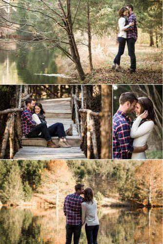 27 fotos de compromiso de otoño que son las más lindas – #Cutest #Engagement #fall # …