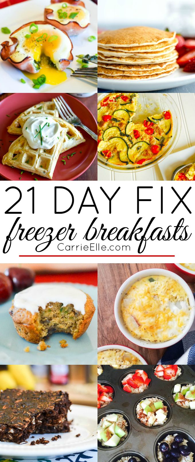 21 Day Fix Freezer Breakfasts Make These Breakfasts In Advance And Grab Them On The Go 21 Day Fix Recipes 21 Day Fix Breakfast Eat 21 Day Fix Meal Plan