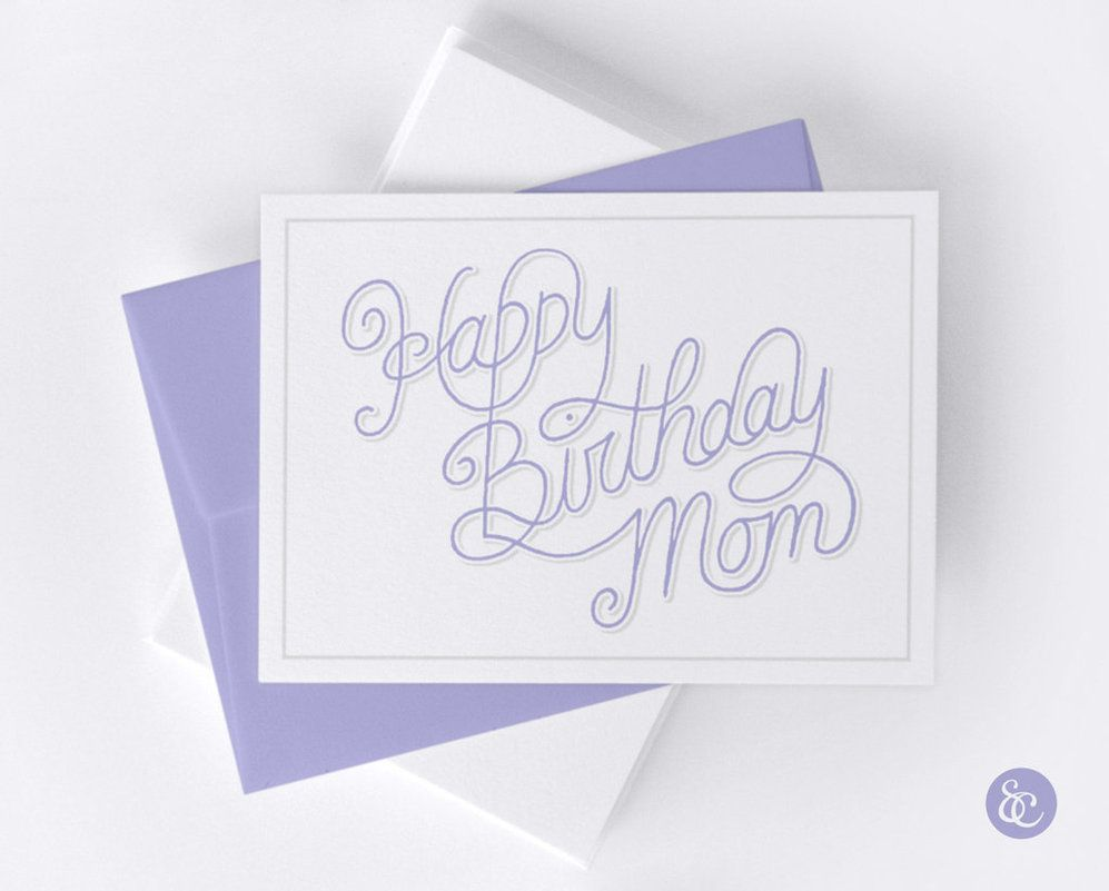 25 best ideas about Happy birthday mom cards – Happy Birthday Mom Cards