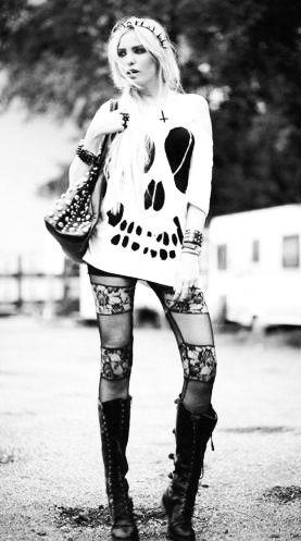 Rock Girl, Like this look!