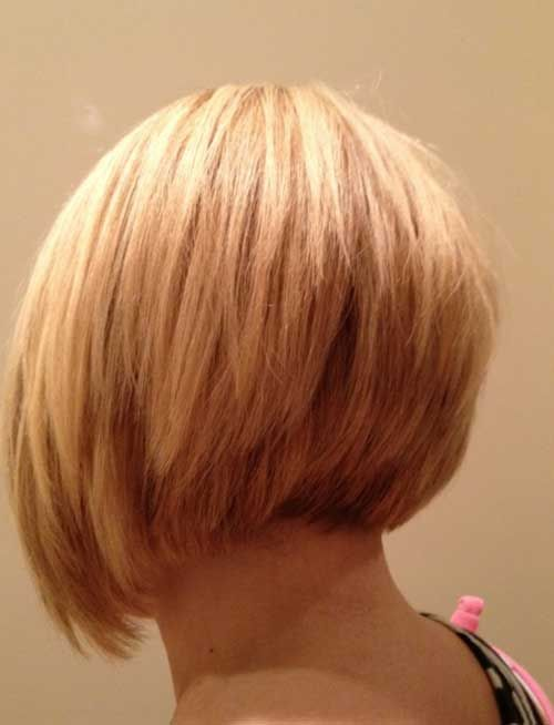 Cool Blonde Inverted Layered Bob Google Search Hair Pinterest Short Hairstyles Gunalazisus