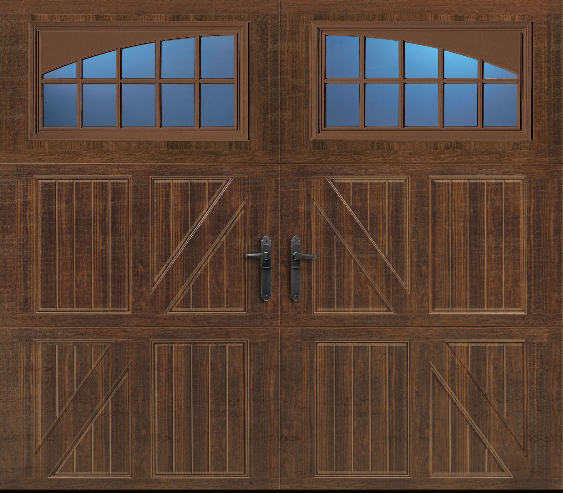 Amarr Garage Door From Costco Design Lucern Windows Seine Colour Walnut Garage Doors Doors Garage Door Types