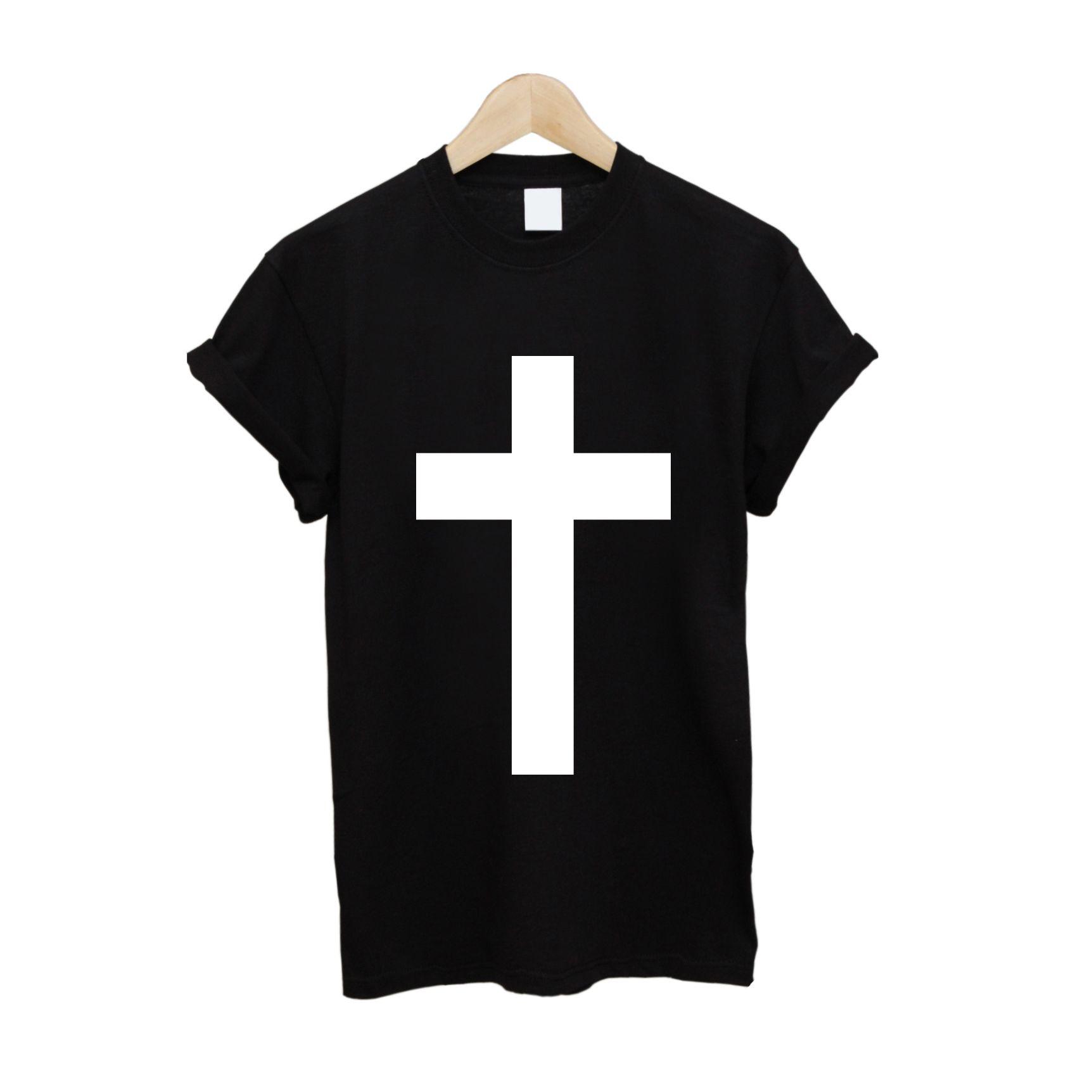 Black t shirt white cross - Christian Cross T Shirt 10 Free Uk Delivery Teeisland