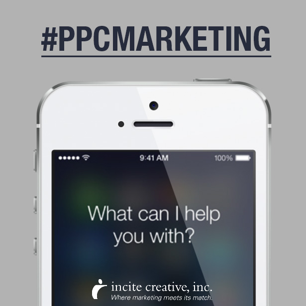One trend to remember about when using #PPC campaigns is voice search and natural language. We're more and more in-touch with digital assistants, like Cortana or Siri, and we use voice search and our natural, spoken language to search for things when we use these assistants.    http://www.incitecreativeinc.com/  #DigitalMarketing