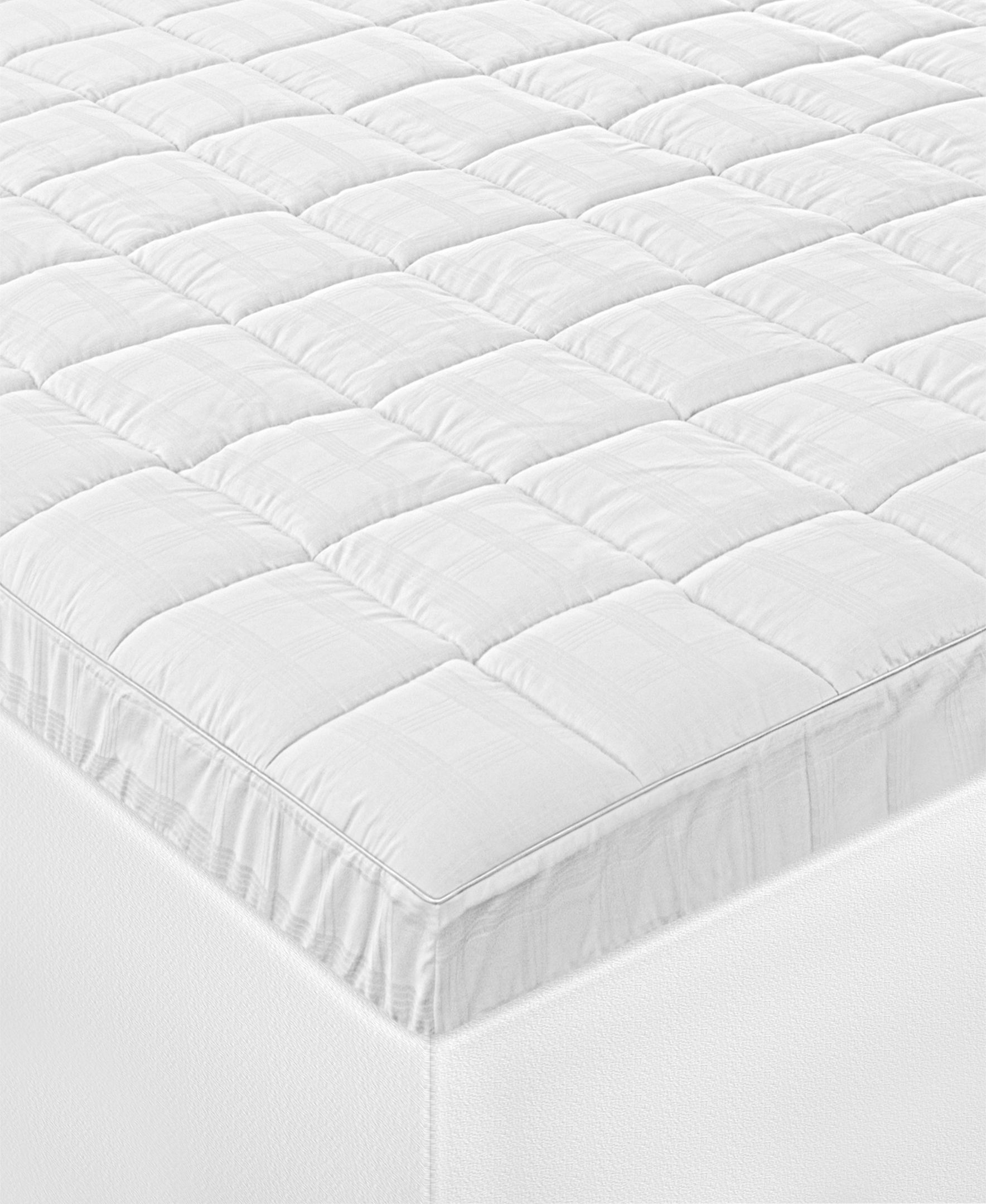 Soft Text 300 Thread Count Twin Mattress Pad, Made with