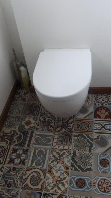 Toiletruimte vintage tegels google zoeken kleinste kamer ideetjes pinterest search - Wc tegel ...