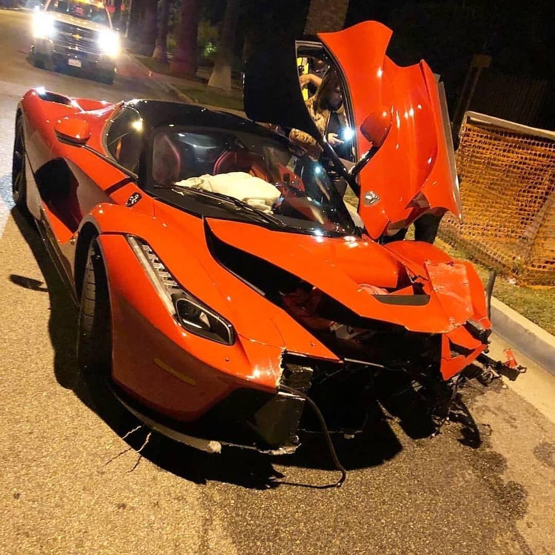 Laferrari Crash Super Cars Top Cars Car