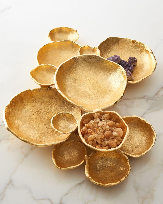 John-Richard Collection Organic Bowls Table Decor (With