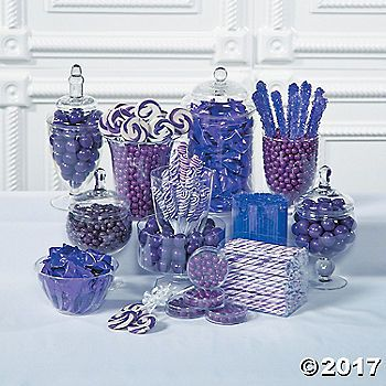 Complement Purple Wedding Decorations With Sweets From Our Wide Selection Of Candy Buffet Supplies Stock