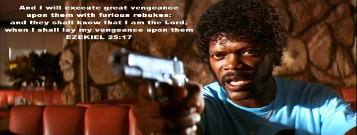 Merveilleux Pulp Fiction · Bible QuotesMovie ...