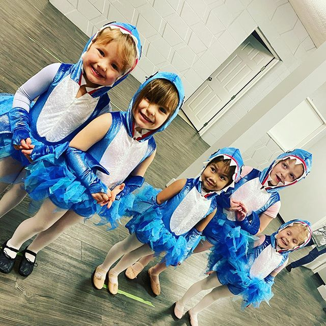We have the cutest Baby Sharks EVER! #babyballet # ...