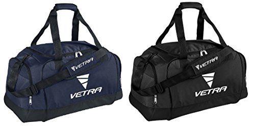 Vetra Focus Duffel Bag Holdall Carry Sports Bags Size Medium 60ltr Club Team Personal Equipment Bag Sz M Soccer Football Gym Basketball Duffle Bags Travel Overn Duffle Bag Travel Sport Bag
