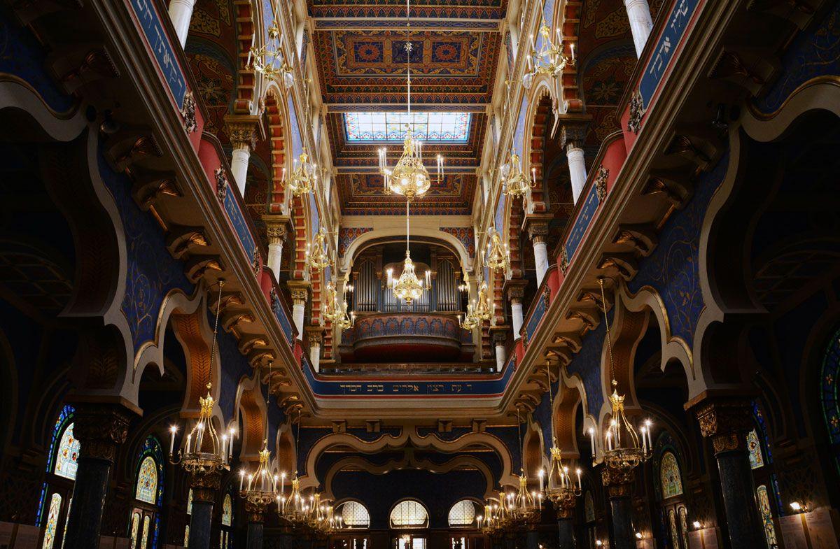 Jubilee Synagogue, Prague, Czech Republic