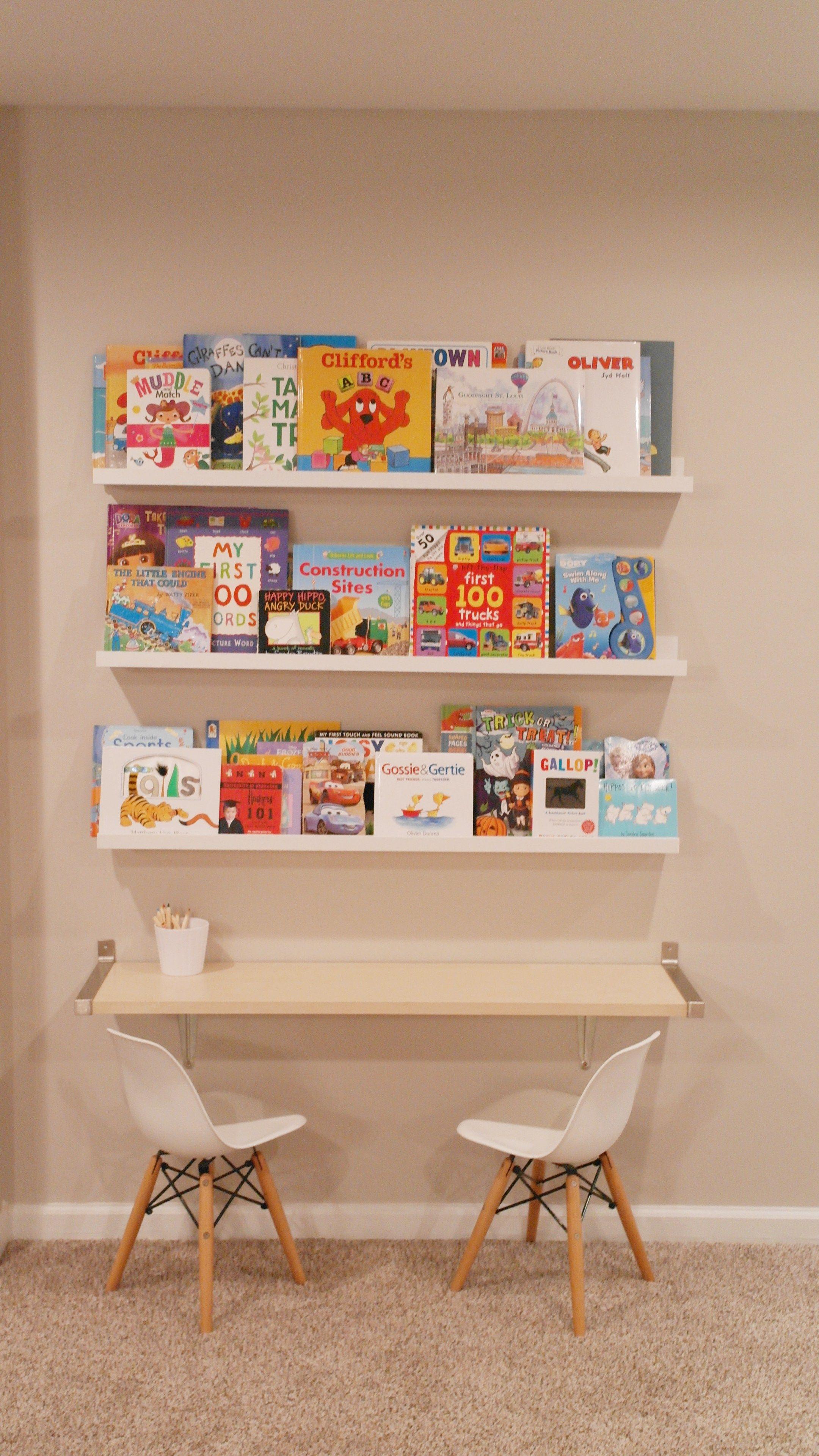 Ikea Hack Book Storage And Kids Bar Width Table Kids Bedroom