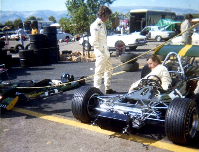 jochen rindt and graham hill lotus 69 cosworth fva jochen rindt racing itroph e de france. Black Bedroom Furniture Sets. Home Design Ideas