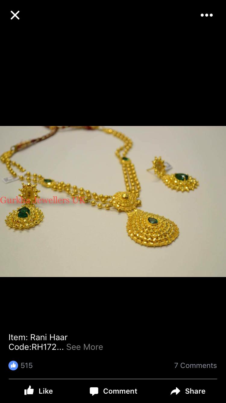Pin by Veena Ravi Reddy Meeniga on Jewelry | Pinterest | Gold ...
