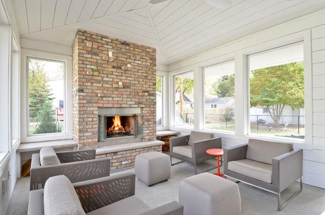 Scandinavian Contemporary   Contemporary   Porch   Minneapolis   By REFINED  LLC