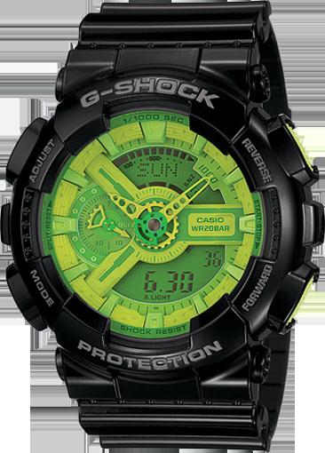 1fd20c85e23 Green Face - GShock