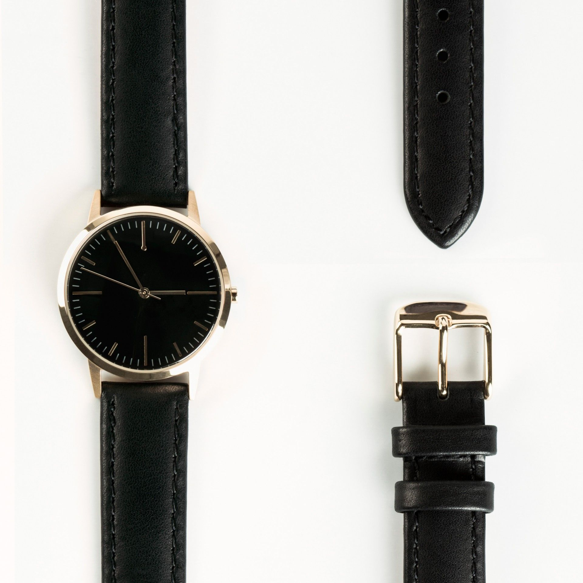 island river gallery minimal watches for men in accessories product lyst watch black