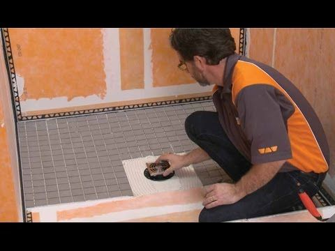 Schluter Kerdi Shower Kit Youtube Shower Tile Shower Systems