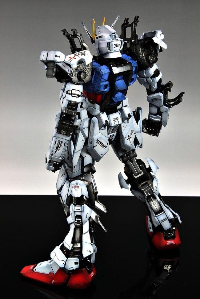 GUNDAM GUY: PG 1/60 GAT-X105 Strike Gundam w/ Aile Strike